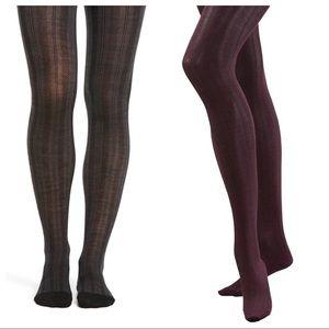SmartWool chevron Purple Merino Wool Tights